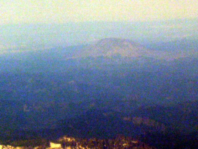 According to the pilot, this is Mount St Helens