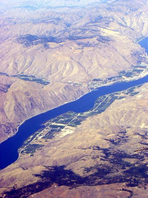 The pilot said this was the Columbia River