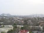 View of the Cooper River Bridges from the 8th floor Storm Eye Institute