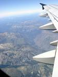 Mountains from 30 000 feet up